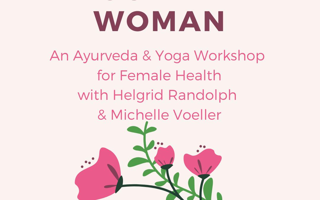 Rocky Mountain Woman: Ayurveda & Yoga Online Workshop for Female Health