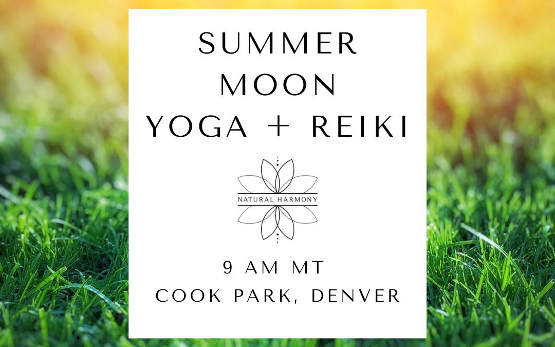 Summer Moon Yoga + Reiki in Cook Park
