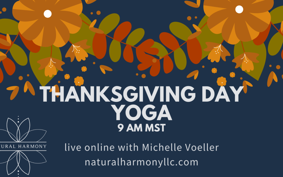 Thanksgiving Day Yoga